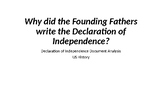 Declaration of Independence Document Analysis