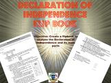 Declaration of Independence Flip Book