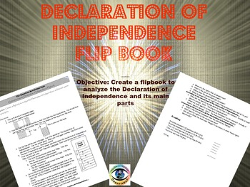 Declaration of Independence Flip Book