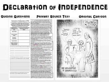 Declaration of Independence! Fun and easy to read...