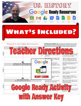 British Rule, Articles of Confederation, and Constitution  | Google Activity