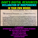 Declaration of Independence In Your Own Words