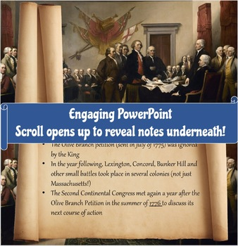 Declaration of Independence Interactive Analysis Lesson