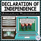 Declaration of Independence Interactive Google Slides™ Presentation