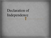 Declaration of Independence Jigsaw Activity (UPDATED)