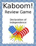 Declaration of Independence Kaboom