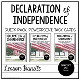 Declaration of Independence ~ Lesson Bundle