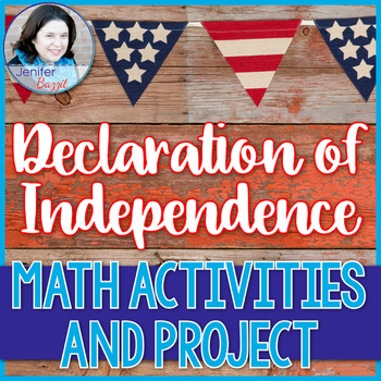 Declaration of independence math activities and project learn declaration of independence math activities and project learn about the signers publicscrutiny Image collections