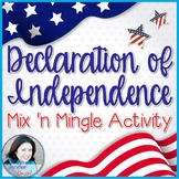 Declaration of Independence Mix 'n Mingle Grievances Activ