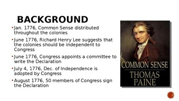Declaration of Independence Overview