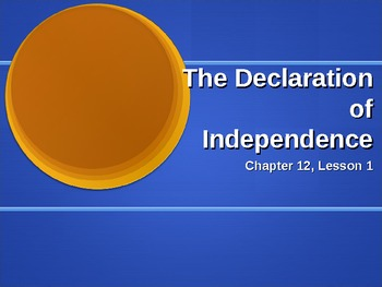 Declaration of Independence Overview and Discussion Questions