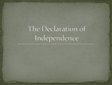 Declaration of Independence PPT lesson