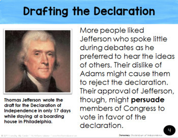 Declaration of Independence ~ PowerPoint