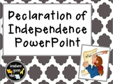 Declaration of Independence PowerPoint and FlipBook