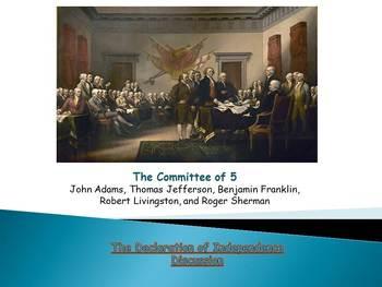 Declaration of Independence Presentation