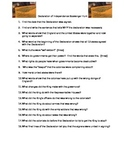 Declaration of Independence Primary Source Analysis Scavenger Hunt Worksheet