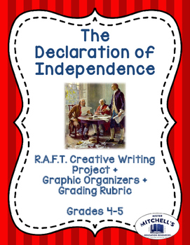 Declaration of Independence RAFT Creative Writing Project