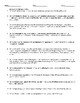 Declaration of Independence Reading Comprehension Activity