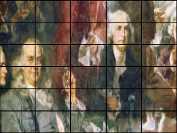 Declaration of Independence - Recreate Two Paintings - American Revolution