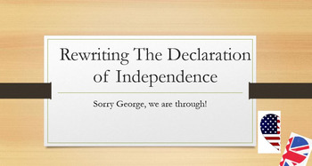 Declaration of Independence Rewrite