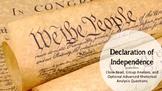Declaration of Independence - Rhetorical Analysis