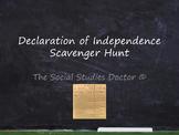 Declaration of Independence Scavenger Hunt