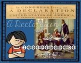 Declaration of Independence Sort {Interactive Notebook Sort}