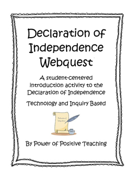 Declaration of Independence Webquest