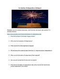 Declaration of Independence Webquest (With Answer Key!)