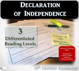Declaration of Independence-differentiated