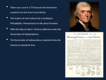 Declaration of Independence (elementary)