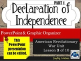 Declaration of Independence (part 1)