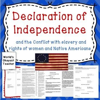 Declaration of Independence vs. Slavery