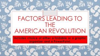 Declaration of Indepenendence-Factors Leading to Revolution