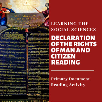 Declaration of the Rights of Man and Citizen Reading with Questions