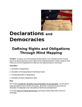 Declarations and Democracies