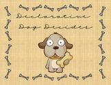 Declarative Dog Literacy File Folder Game / Center (Senten