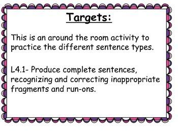 Declarative, Interrogative, Exclamatory, Imperative Sentences...Oh My!