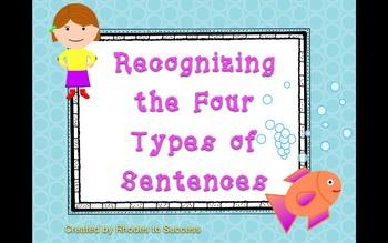 Declarative, Interrogative, Imperative, Exclamatory Sentences