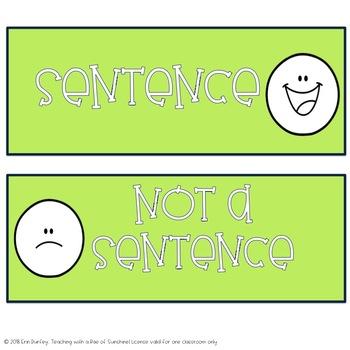 Declarative Sentence Sort