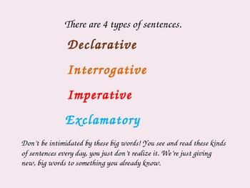 Declarative and Interrogative PowerPoint