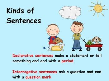 Declarative and Interrogative Sentence Introduction