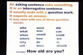 declarative and interrogative sentences worksheets pdf