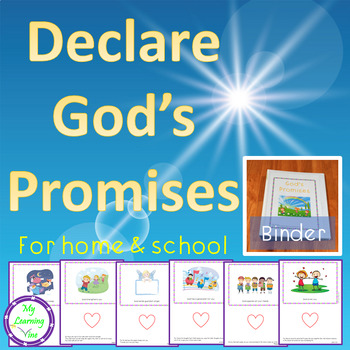 Declare God's Promises Binder For Home And School