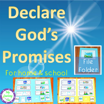 Declare God's Promises File Folder For Home And School
