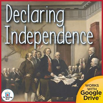 Declaring Independence Interactive Notebook