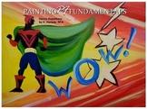 Deco Superhero Painting Lesson Plan, Grades 4-8