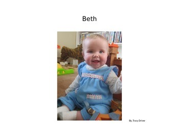 Decodable Book: Beth