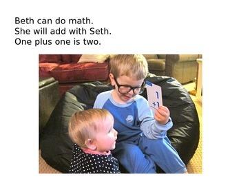 Decodable Book: Beth Can Do Math