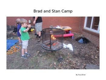 Decodable Book: Brad and Stan Camp